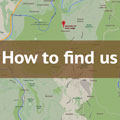 How to find us button